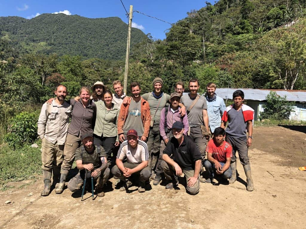 Das Team der Amazonas Expedition im Juli 2019